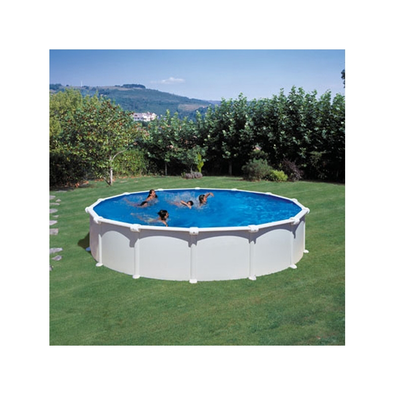 Piscina fuoriterra rigida tonda atlantis 558 piscine market for Atlantis piscine